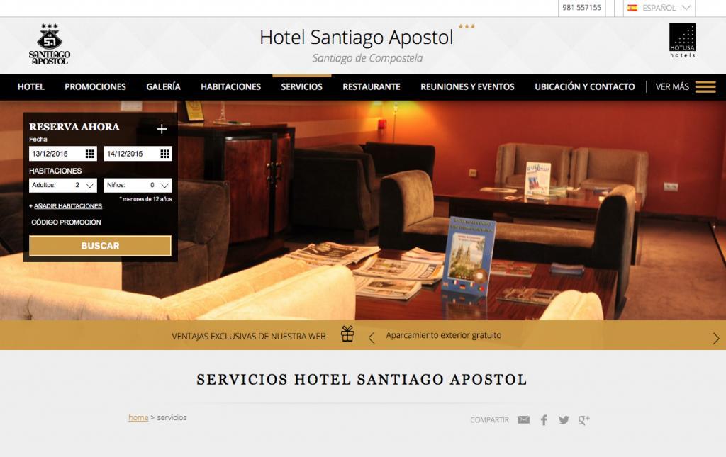 Hotel santiago Apostol de Santiago de Compostela